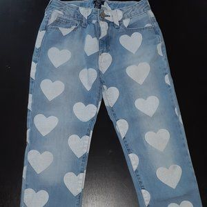 GAP Heart Girlfriend jeans